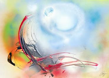 Zen-Gemälde von Zen-Meister Zensho W. Kopp